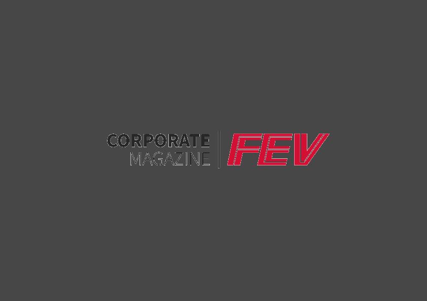 FEV Corporate Magazine