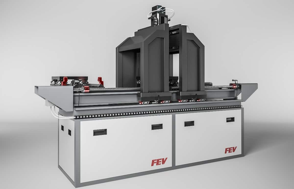 Fev Customized Test Bench For Flow Investigation