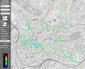 City map Aachen - open service platforms