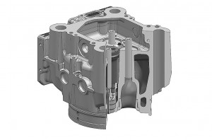 Cylinder head - large engines