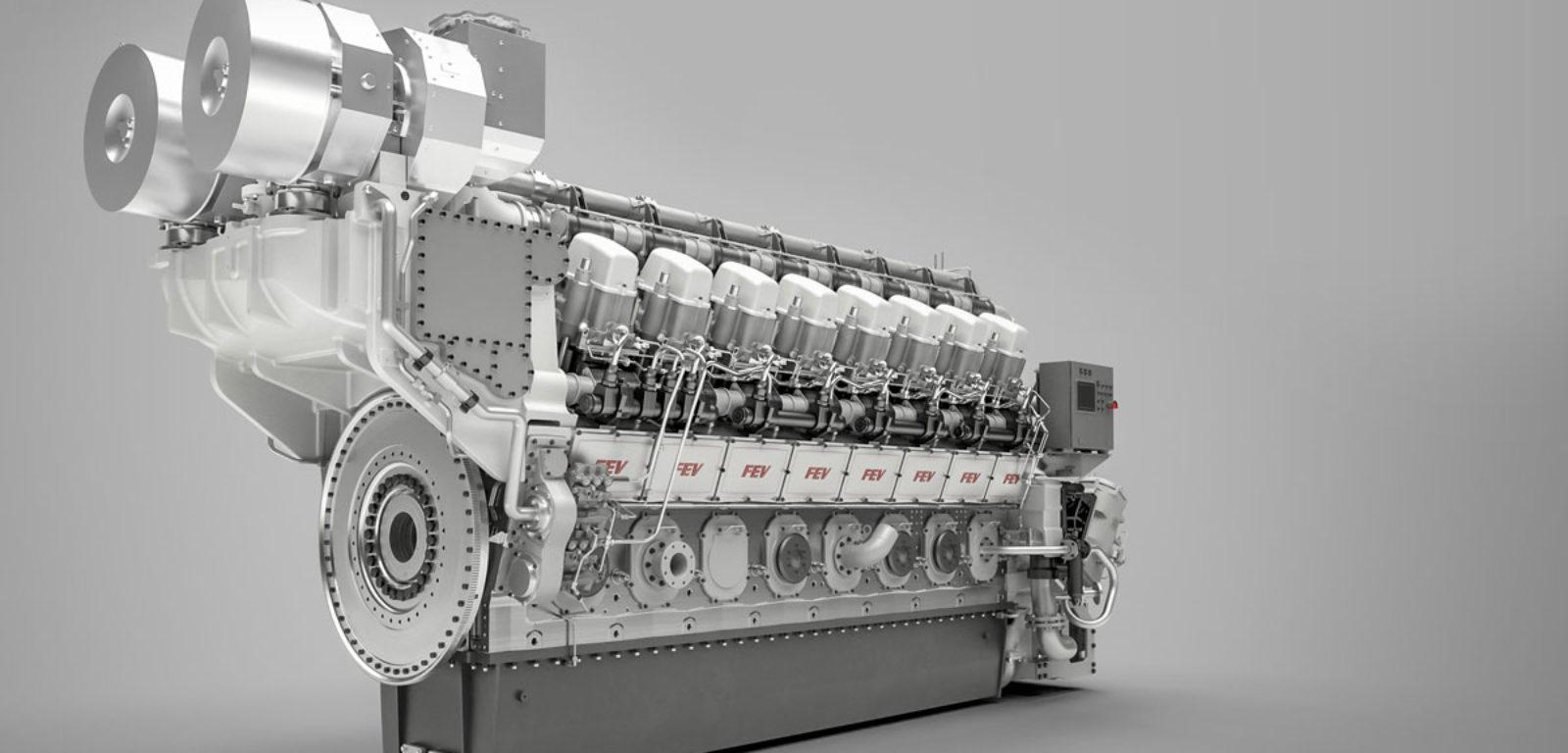 FEV entwickelt neue Großmotorenfamilie - FEV
